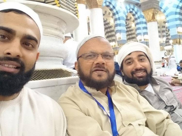 Shehzad, Zahid, Omer Madina Masjid e Nabvi 2017